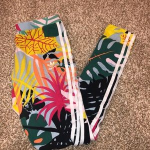 Adidas colorful leggings